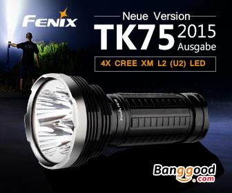 Taschenlampen bei Banggood.com