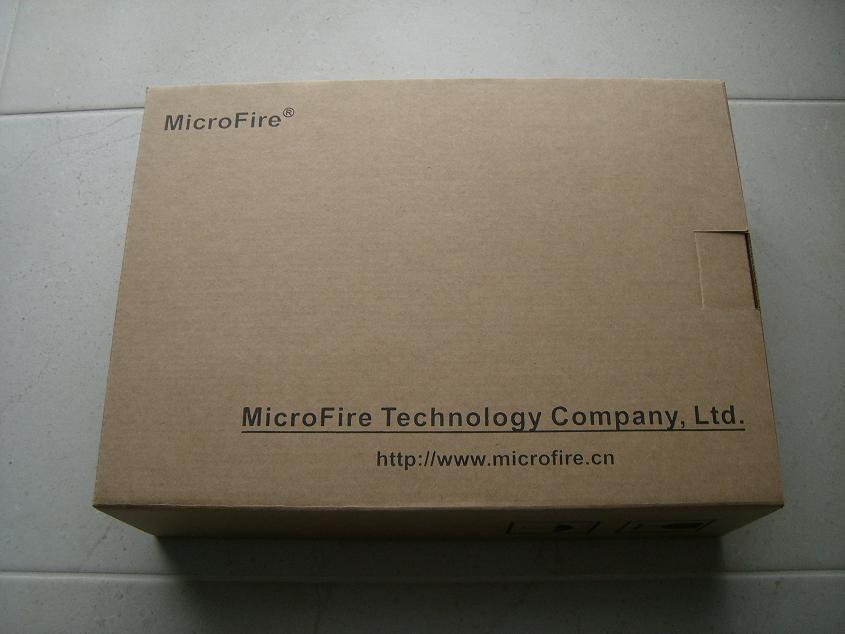 Microfire Verpackung