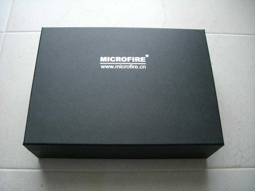 Microfire Warrior K3500 Verpackung