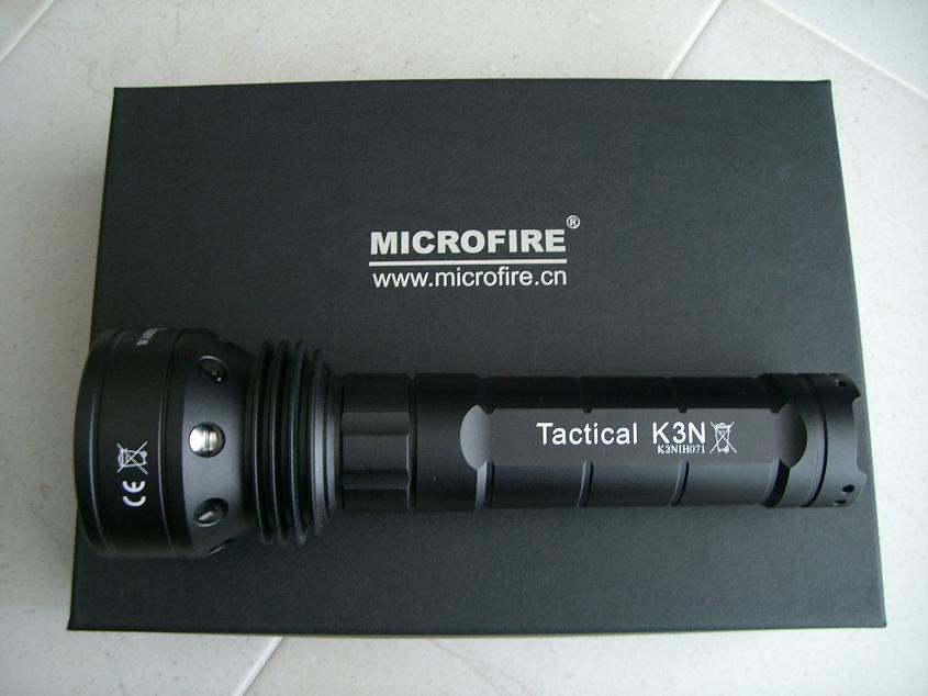 Microfire Warrior K3500, Seitenansicht
