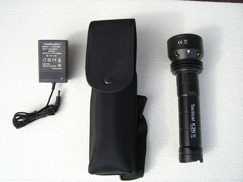 Microfire Warrior K3500 mit Ladegerät und Holster