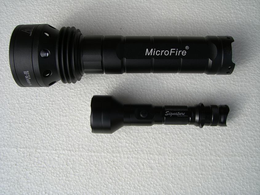 Microfire Warrior K3500 im Vergleich mit Lumapower Signature