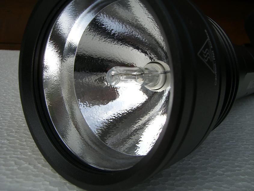 Reflektor mit HID-Lampe