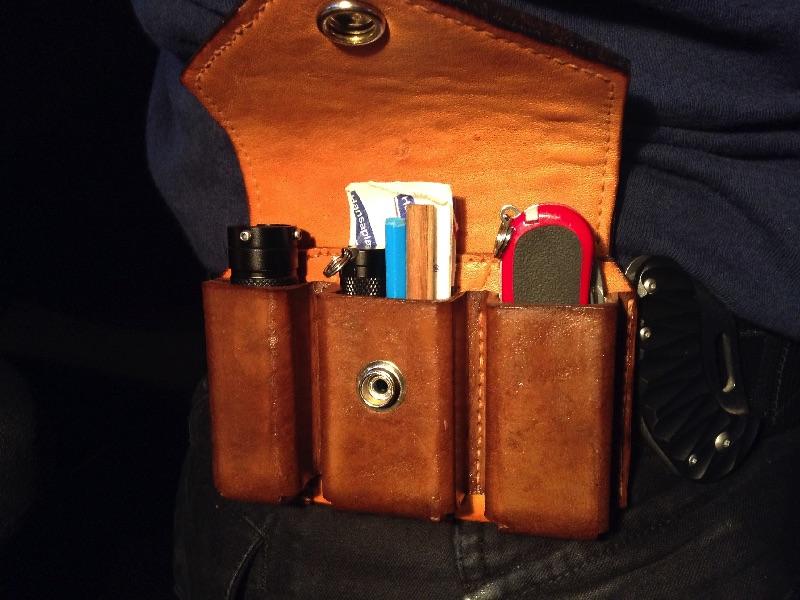 EDC Tasche | Taschenlampen Forum
