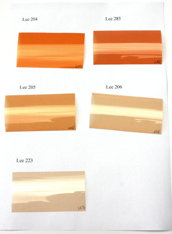 Lichttemperatur von Lampen beeinflussen mit Lee-Filterfolie ...